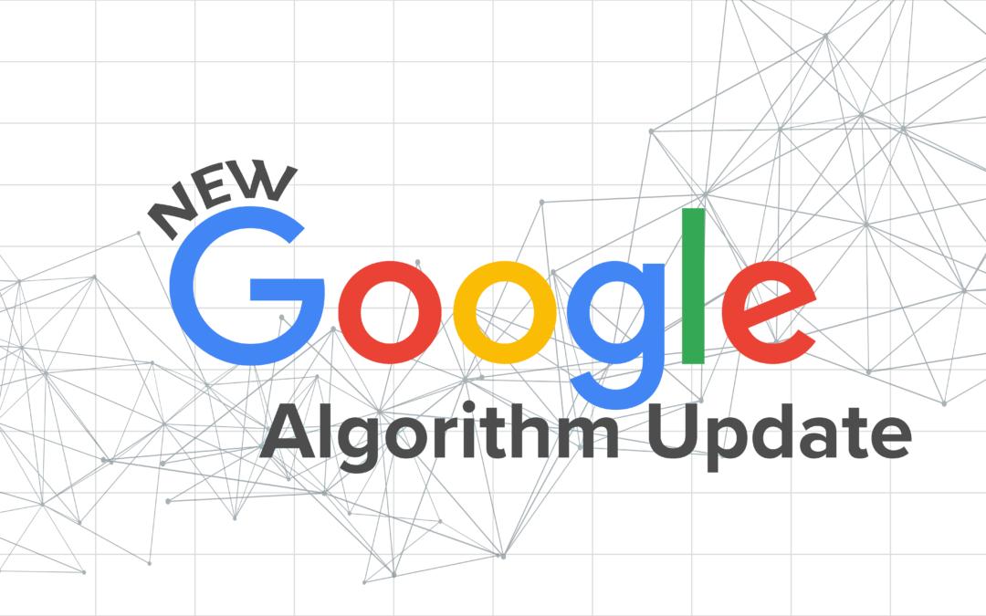 Aggiornamento algoritmo di Google: cosa accade