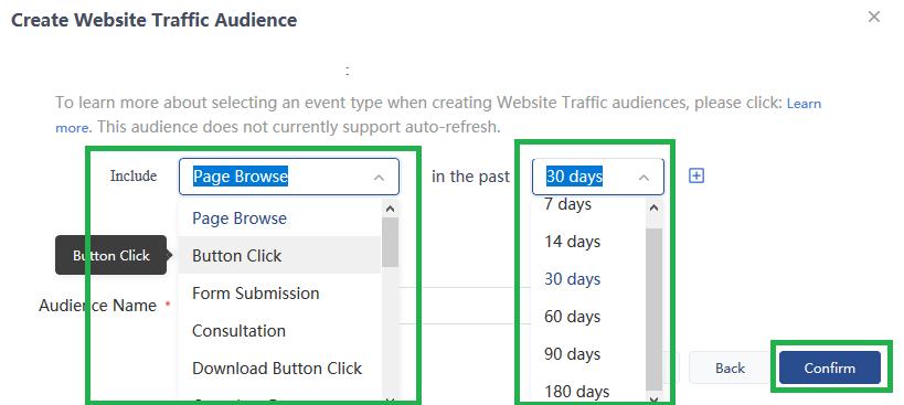 tiktok-pixel-custom-audience-sito-web