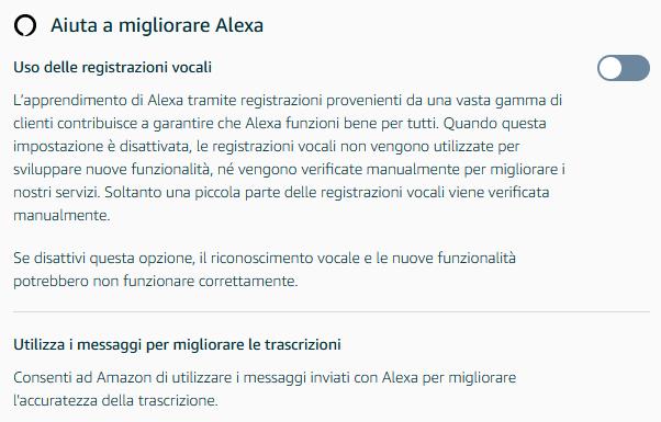 impostazioni-migliora-alexa-analisi-conversazioni