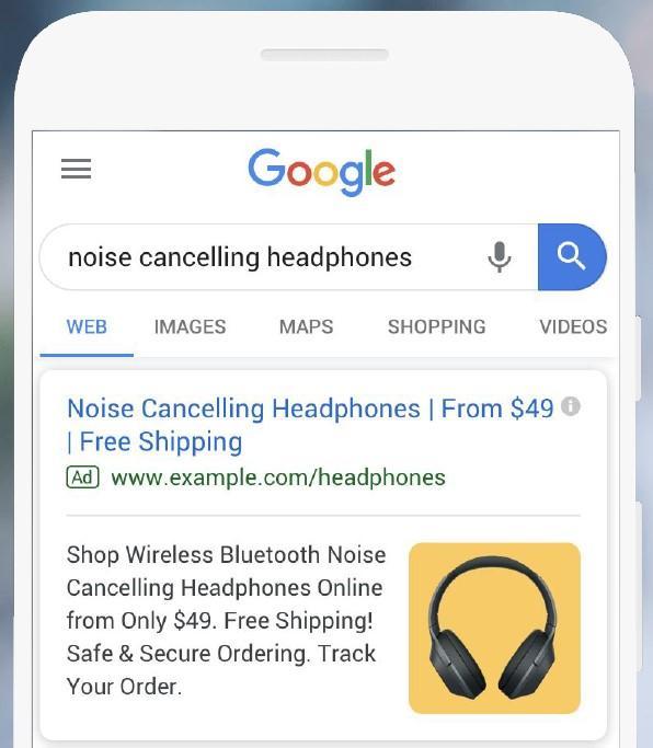Google Ads: estensioni immagini rete di ricerca