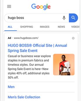 Google Ads estensione immagine rete di ricerca